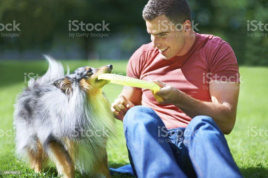 Having fun and playing together royalty-free stock photo