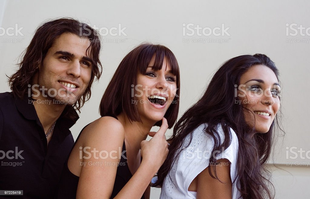 Having fun royalty-free stock photo