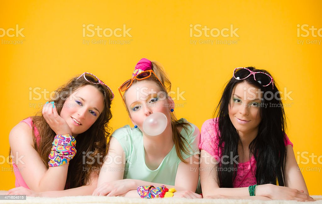 Having fun together royalty-free stock photo