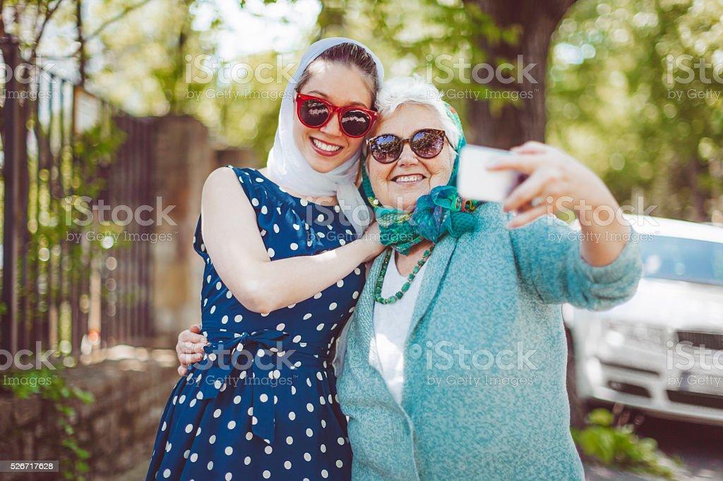 Having fun together stock photo