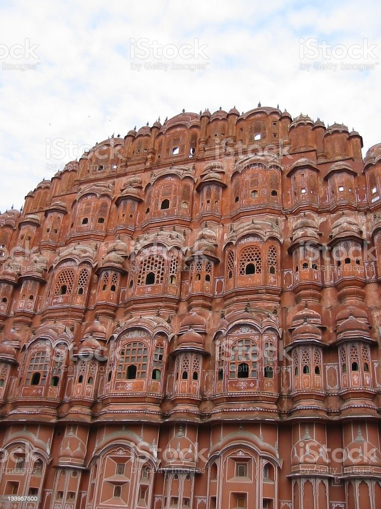 Hawa Mahal (Palace of the Winds) Jaipur, India stock photo