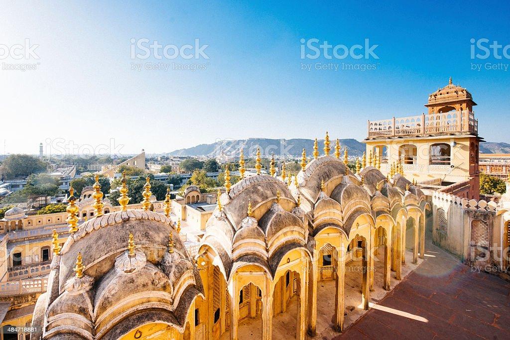 Hawa Mahal Jaipur India stock photo