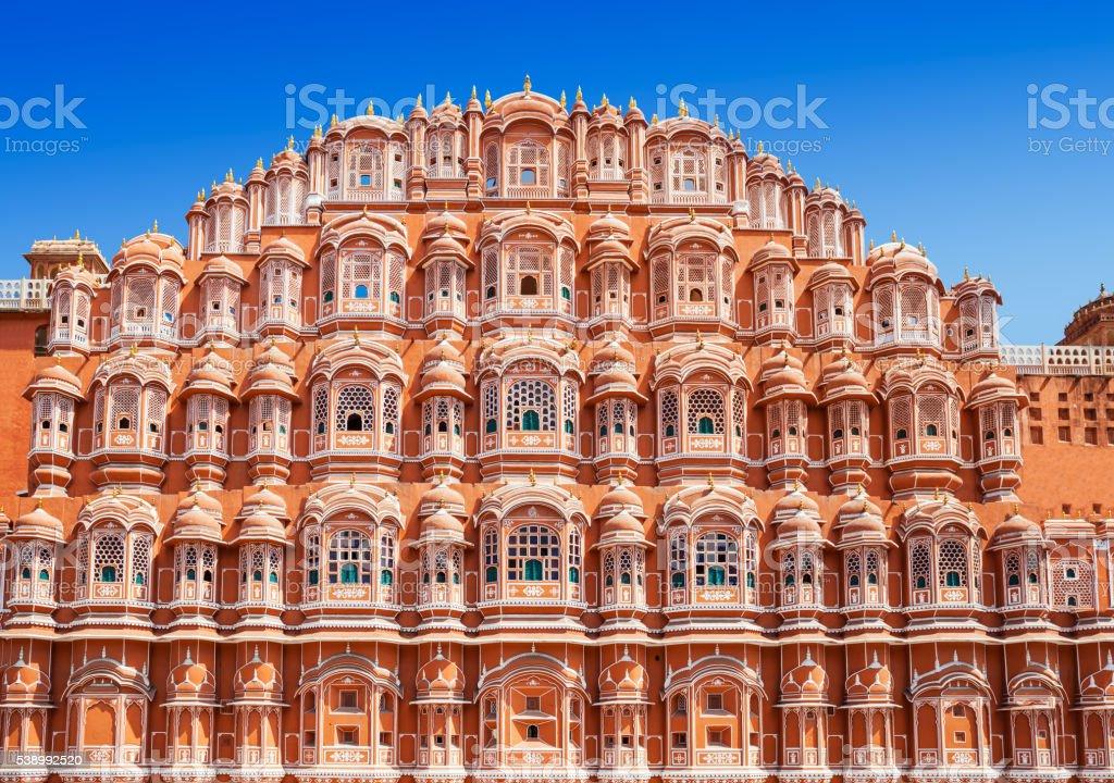 Hawa Mahal palace, Jaipur stock photo