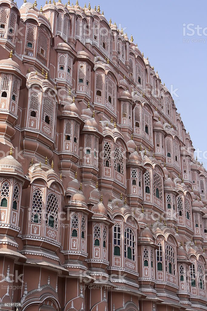 Hawa Mahal, Palace of the Wind stock photo