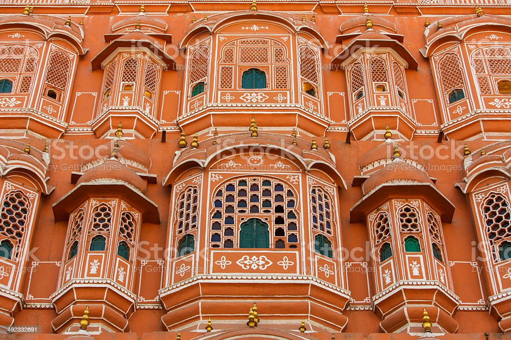 Hawa Mahal Palace of the Winds stock photo