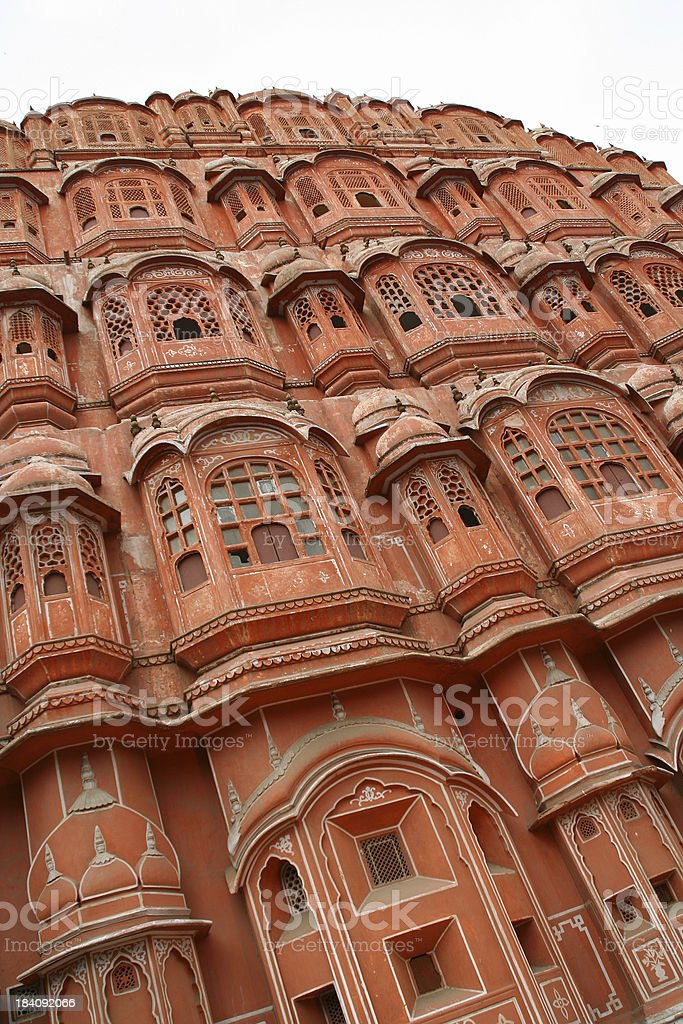 Hawa Mahal-Jaipur India Vt. stock photo