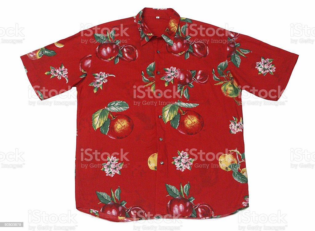 Hawaian Shirt royalty-free stock photo