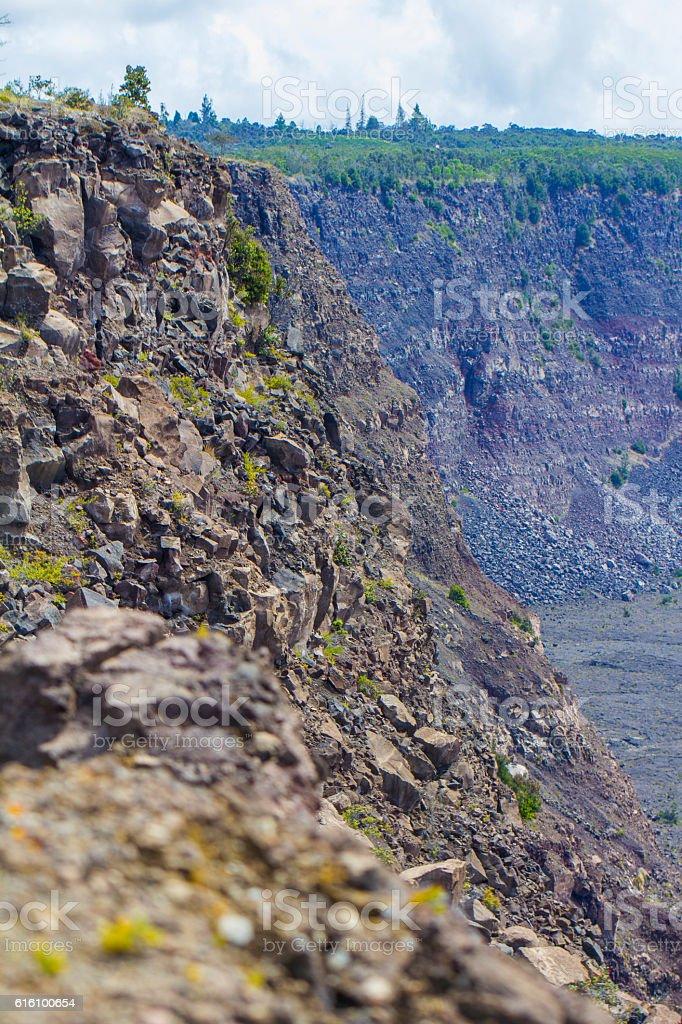 Hawaii Big Island  - Volcano Natural Park stock photo