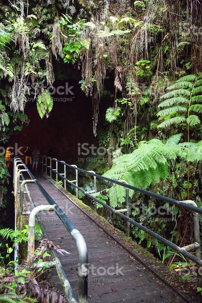 USA - Hawaii - Big Island, Volcanoes National Park stock photo