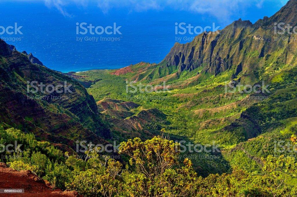 Hawaii Kauai stock photo
