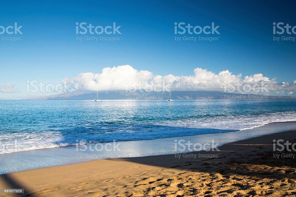 USA - Hawaii - Maui, Kaanapali Beach stock photo