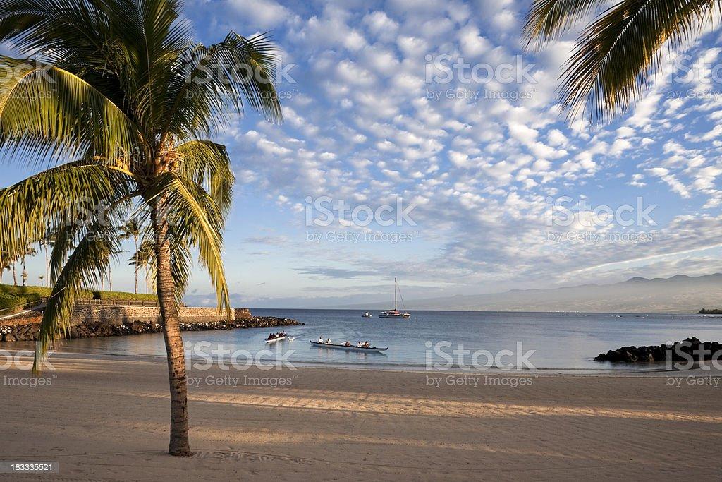 Hawaii Morning stock photo