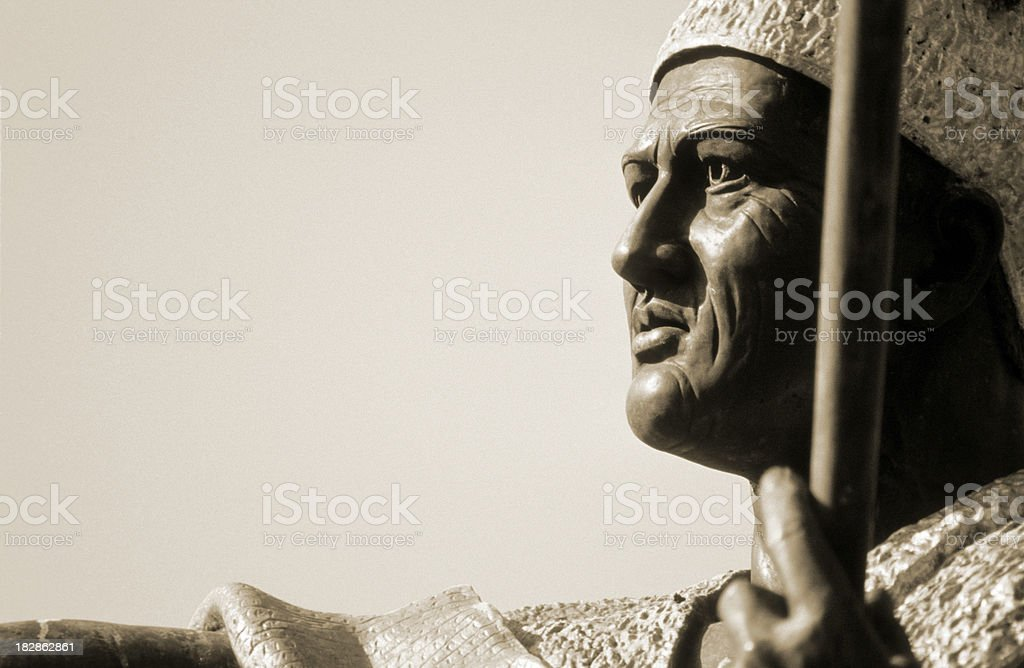 USA Hawaii O'ahu, King Kamehameha I. stock photo