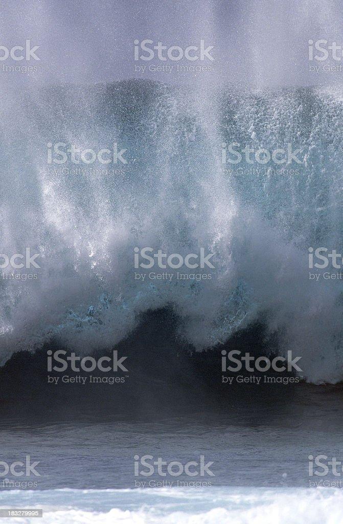 USA Hawaii O'ahu, North Shore, 'Ehukai Beach Park. royalty-free stock photo