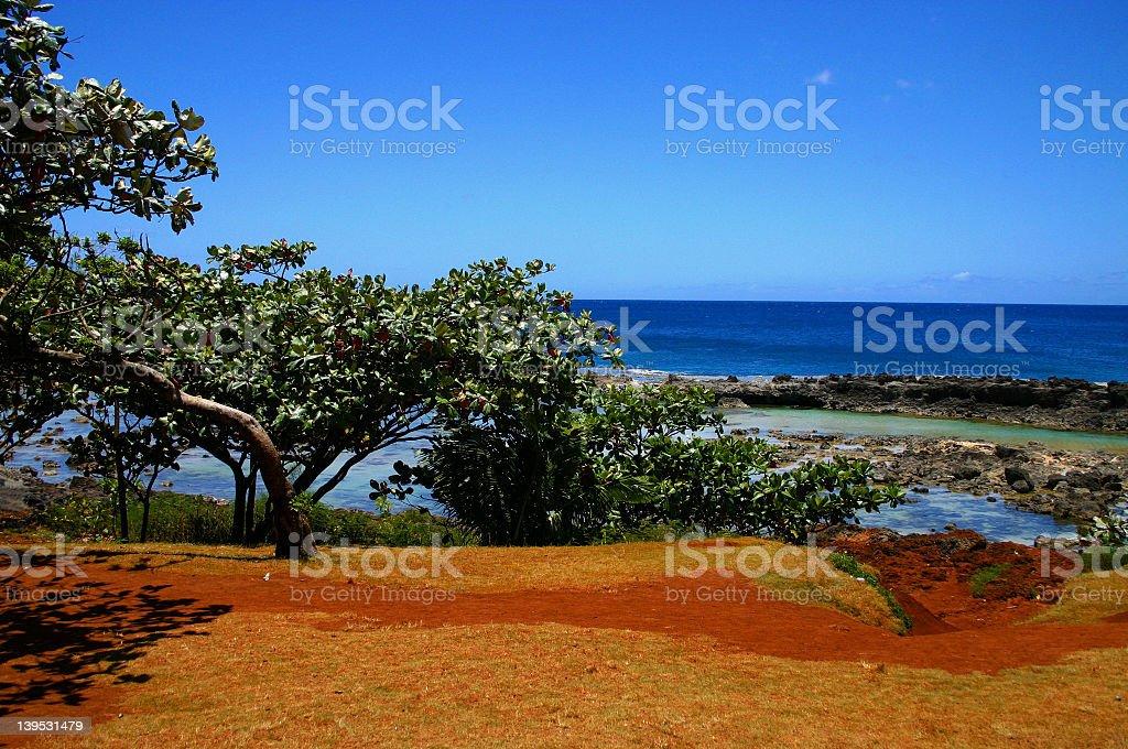 Hawaii Ocean View royalty-free stock photo