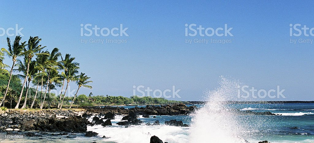 Hawaii panorama royalty-free stock photo