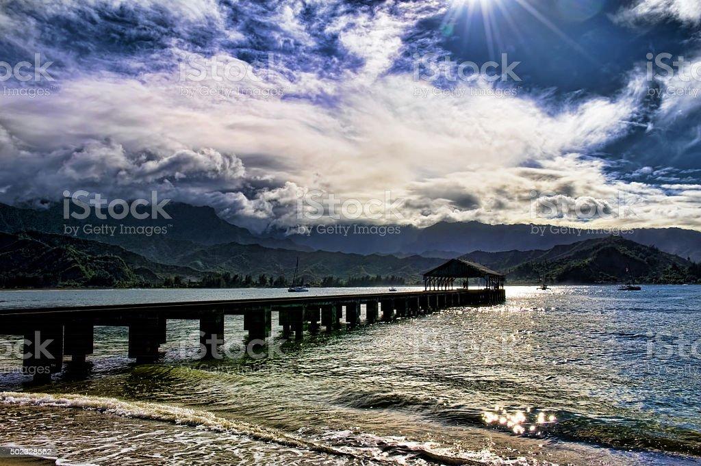 Hawaii Paradise. stock photo