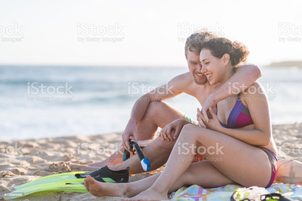 Hawaii Relaxation stock photo