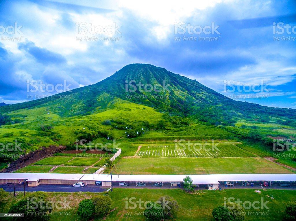 Hawaii Rifle Range stock photo
