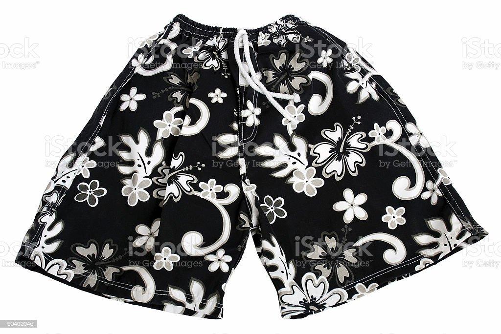 Hawaii short pant stock photo