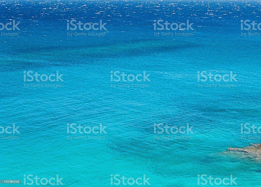 Hawaii turquoise sea royalty-free stock photo