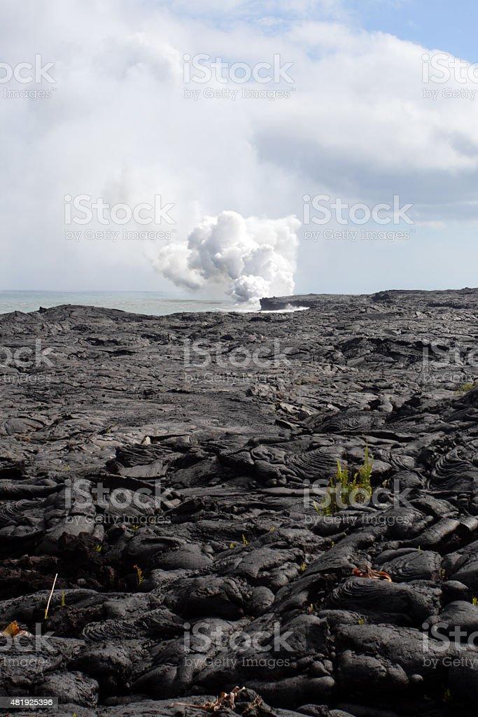 Hawaii Volcanoes National Park, USA stock photo