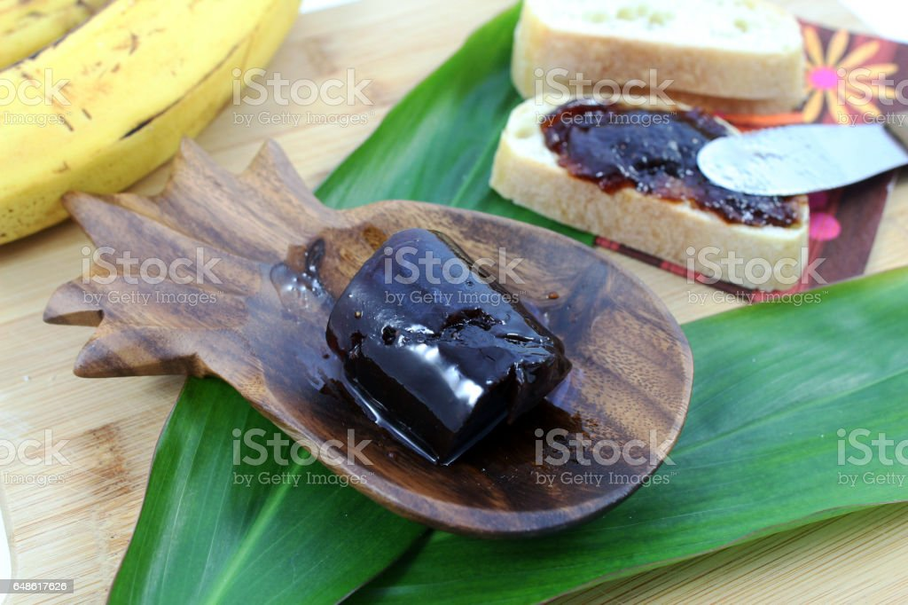 Hawaiian guava jelly stock photo