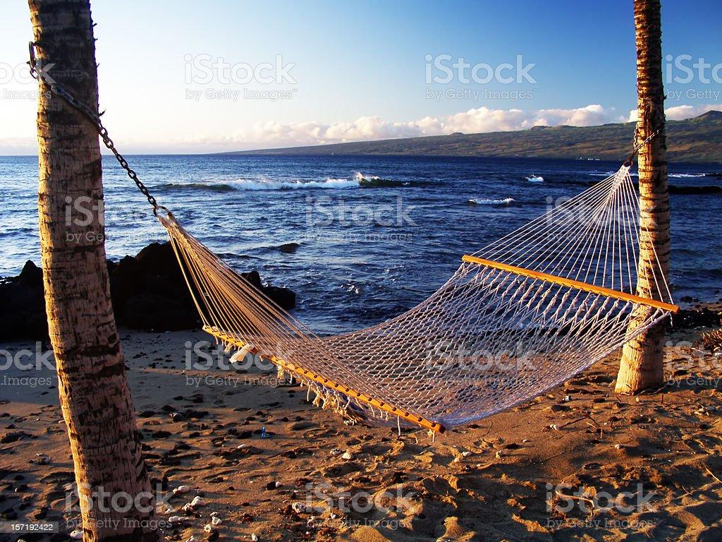 Hawaiian Hammock royalty-free stock photo