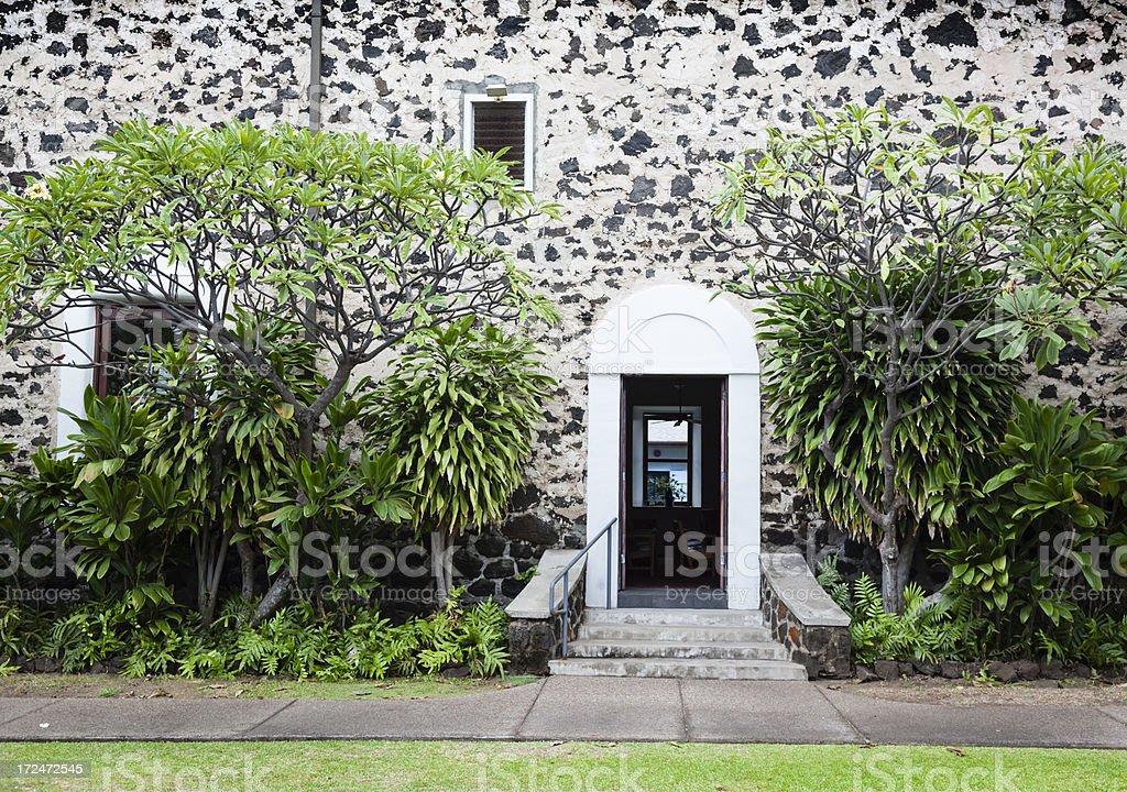 Hawaiian House stock photo