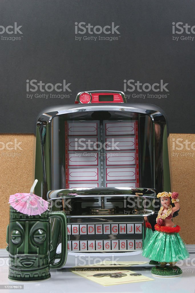 Hawaiian Jukebox royalty-free stock photo