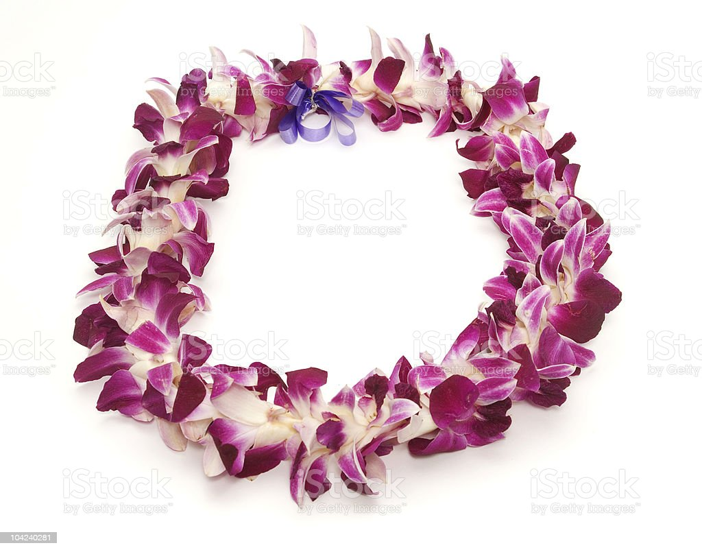 Hawaiian Lei stock photo