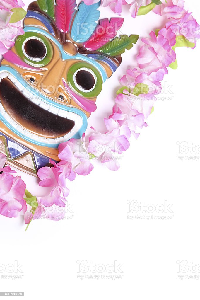 Hawaiian Mask royalty-free stock photo