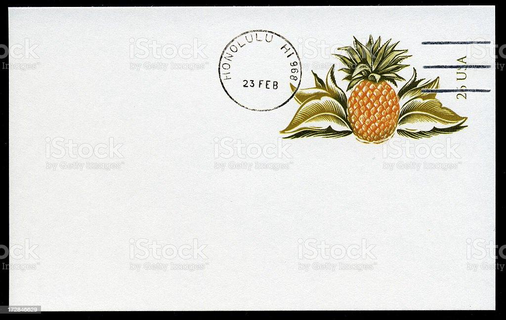 Hawaiian Pineapple royalty-free stock photo