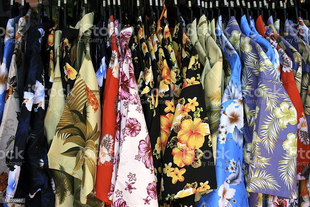 hawaiian shirts royalty-free stock photo