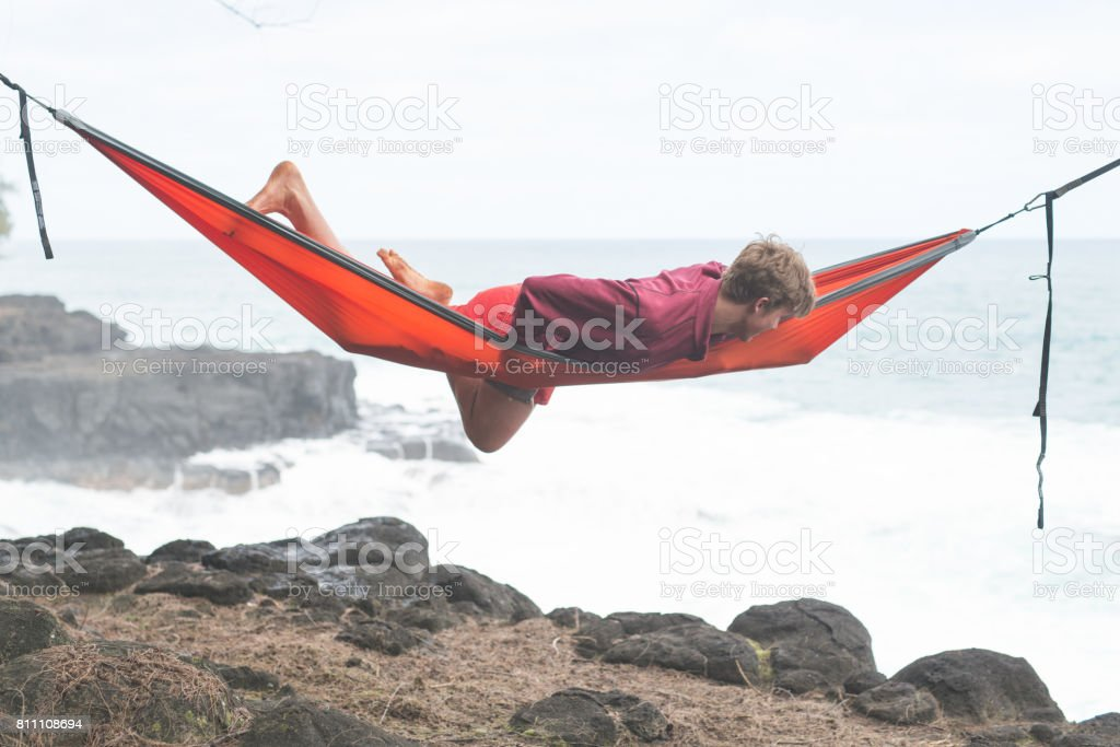Hawaiian Siesta stock photo