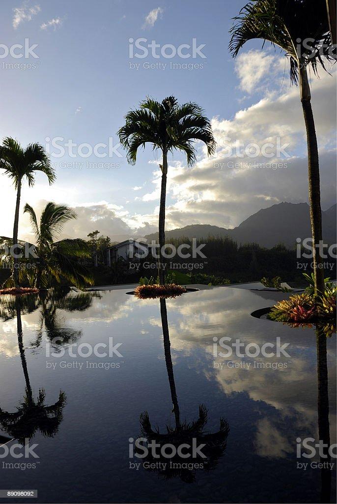 Hawaiian Sunrise royalty-free stock photo