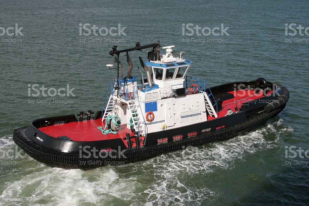Hawaiian Tugboat royalty-free stock photo