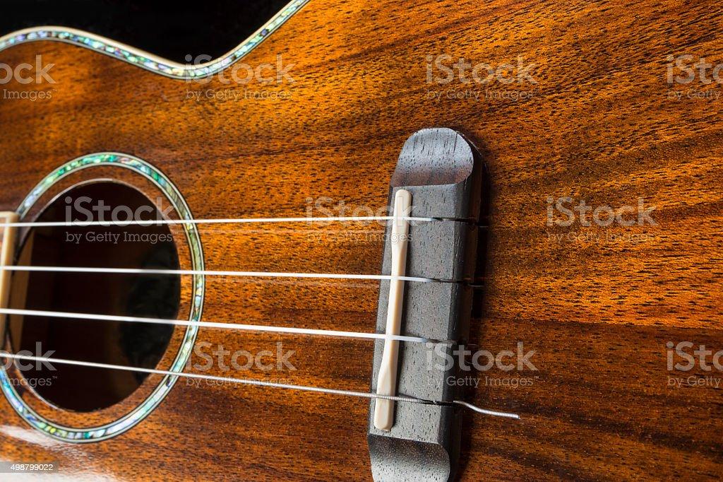 Hawaiian Ukulele Musical Instrument stock photo