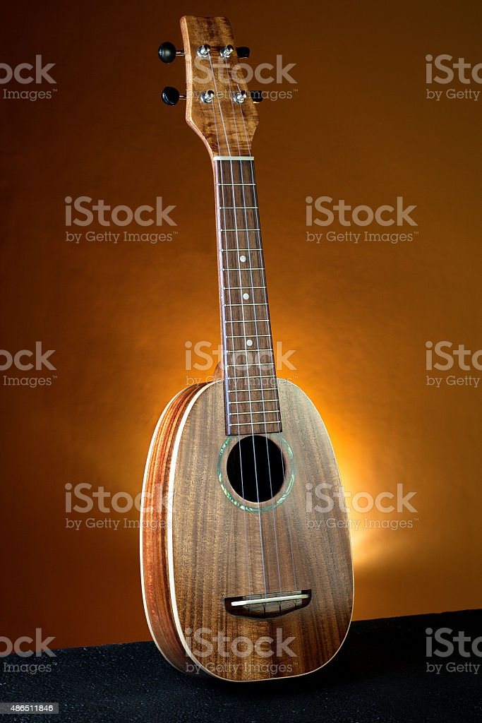 Hawaiian ukulele stock photo