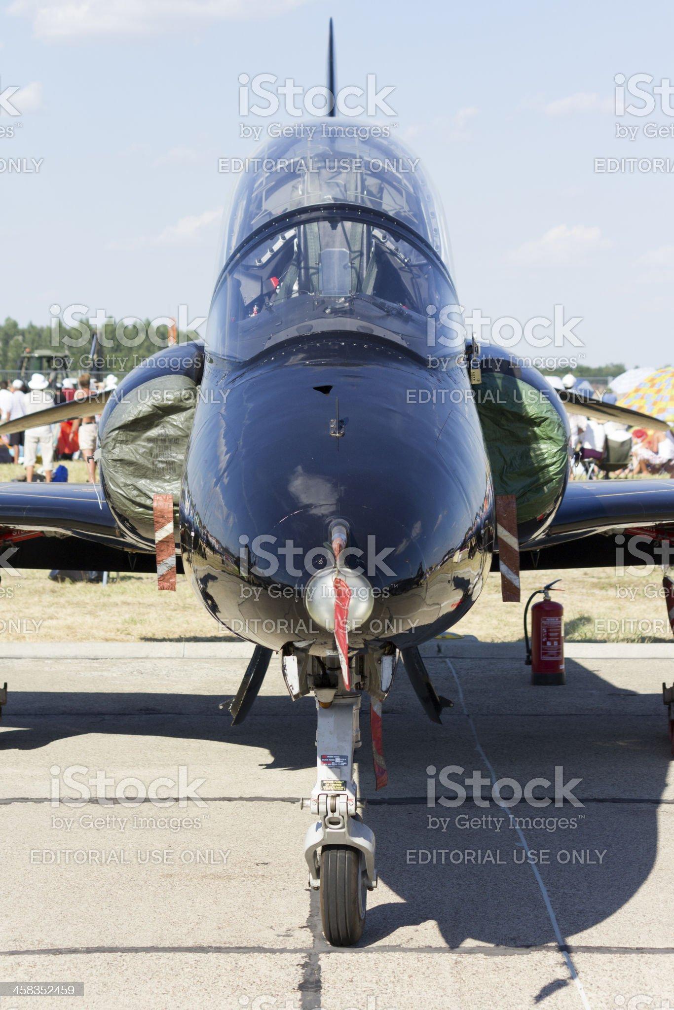 Hawk trainer jet royalty-free stock photo