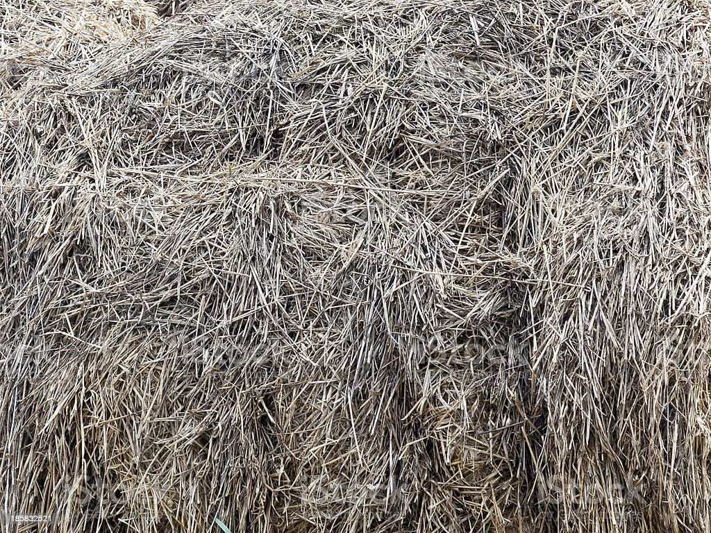 Hay Bale Background royalty-free stock photo