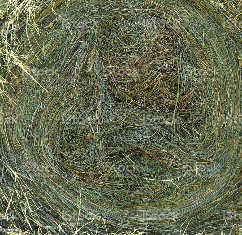 hay bale spiral background stock photo