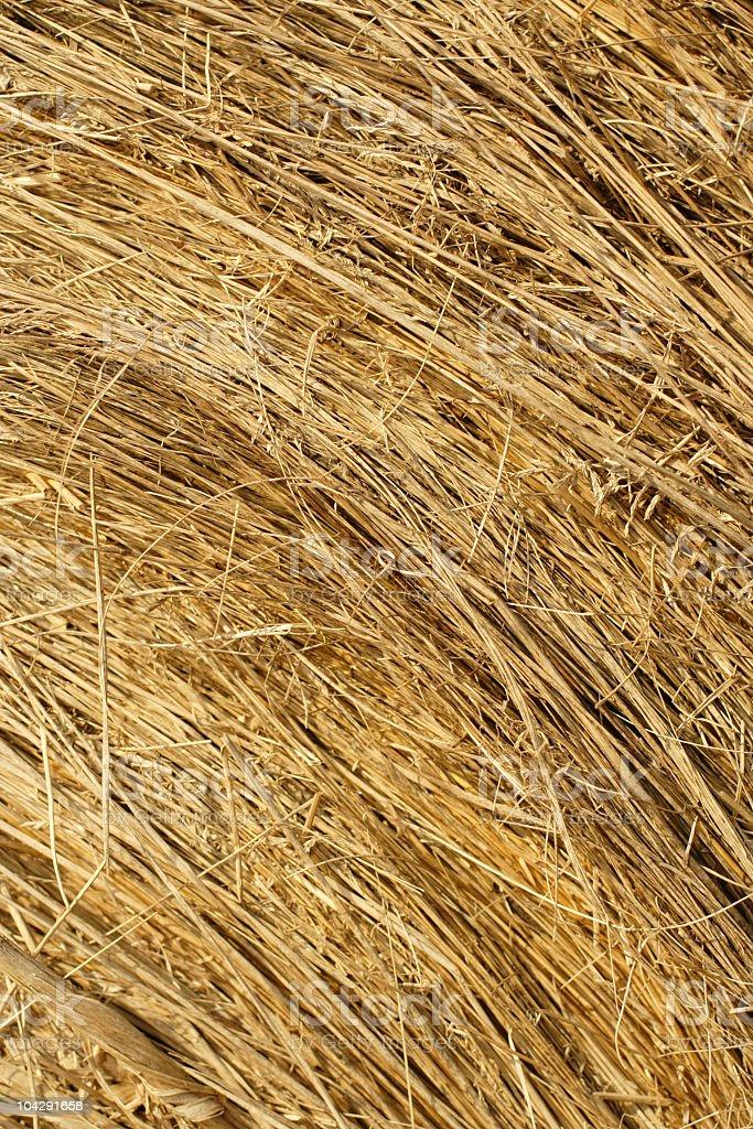 Hay Bale Texture royalty-free stock photo