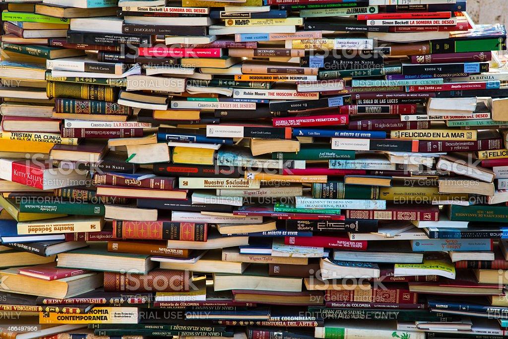 Hay Festival Books stock photo