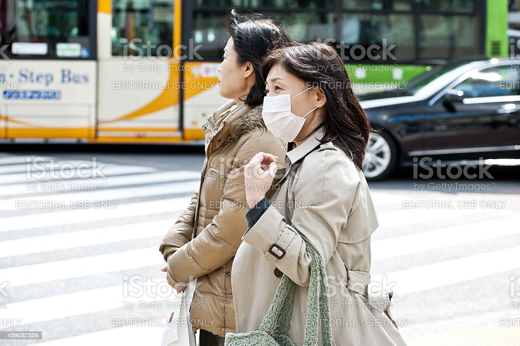 Hay Fever in Japan royalty-free stock photo