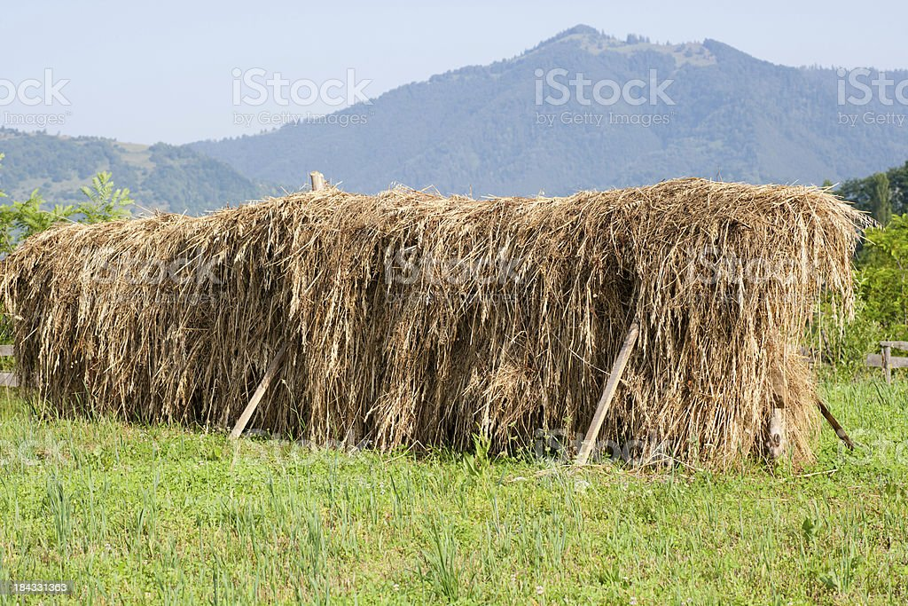 Hay Stack royalty-free stock photo