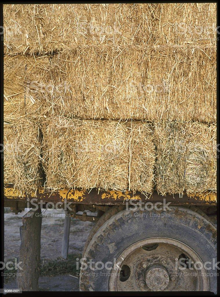 Hay Truck royalty-free stock photo