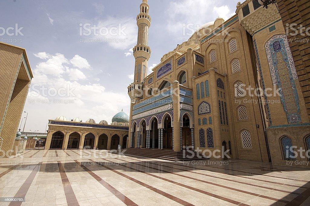 Hayat Mosque, Arbil, Kurdistan, Iraq stock photo