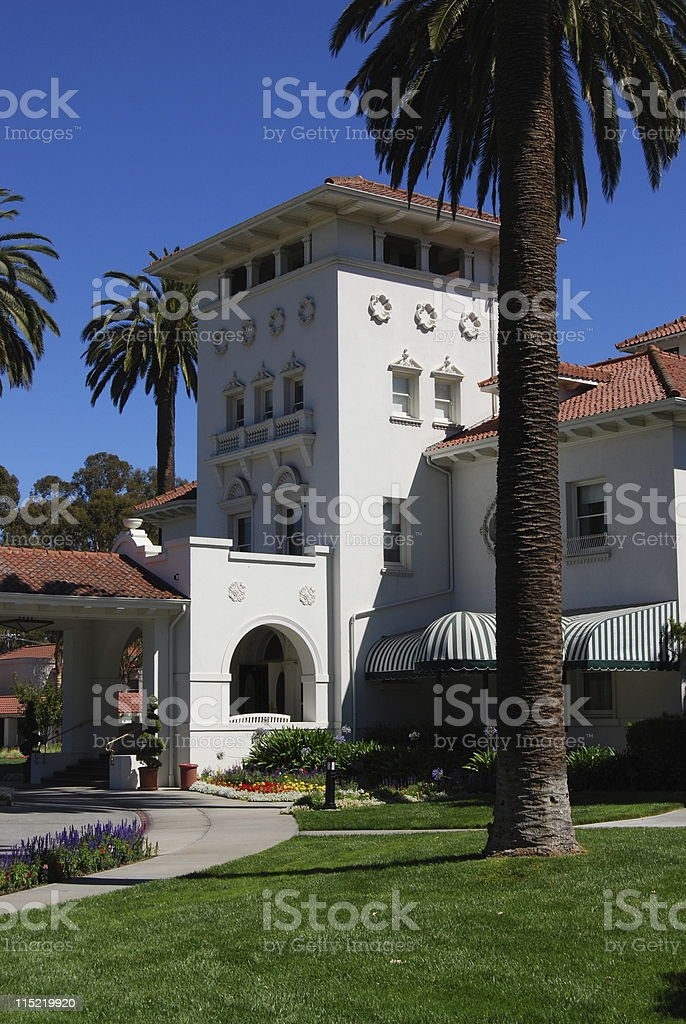 Hayes Mansion royalty-free stock photo