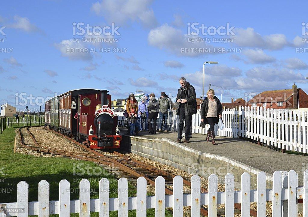Hayling Island Railway royalty-free stock photo